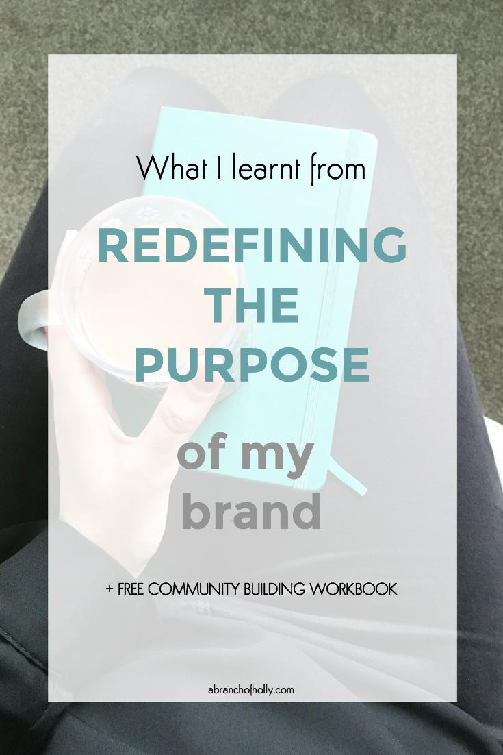 redefining brand purpose