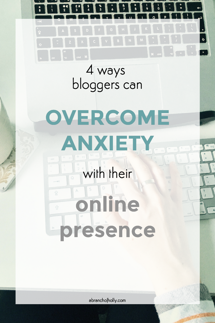 overcome anxiety with online presence
