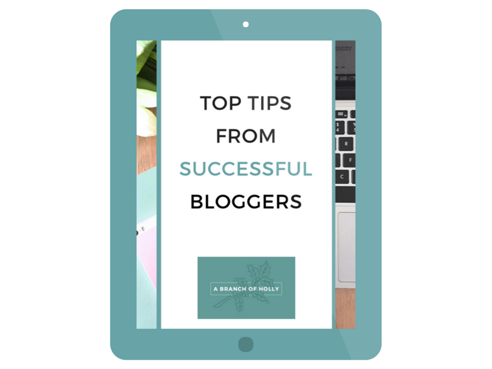 top tips from successful bloggers