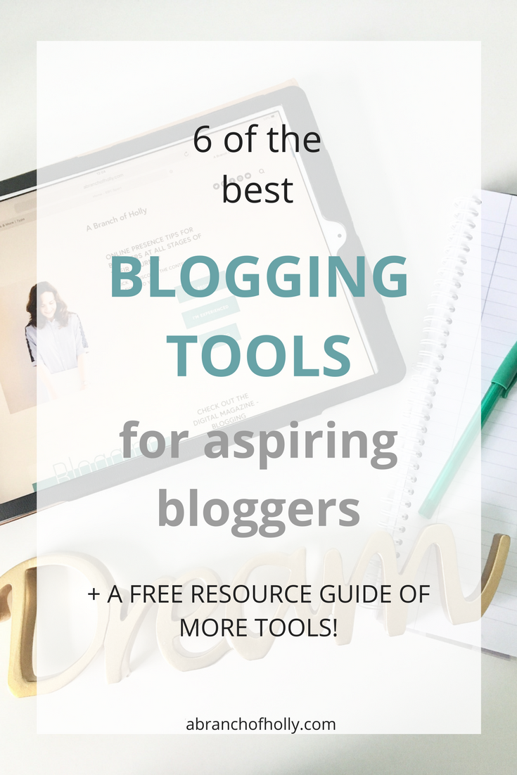 6 of the best blogging tools for aspiring bloggers