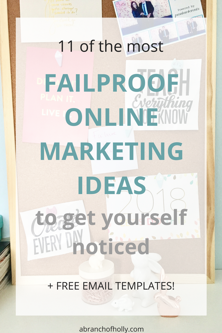online marketing ideas - a branch of holly