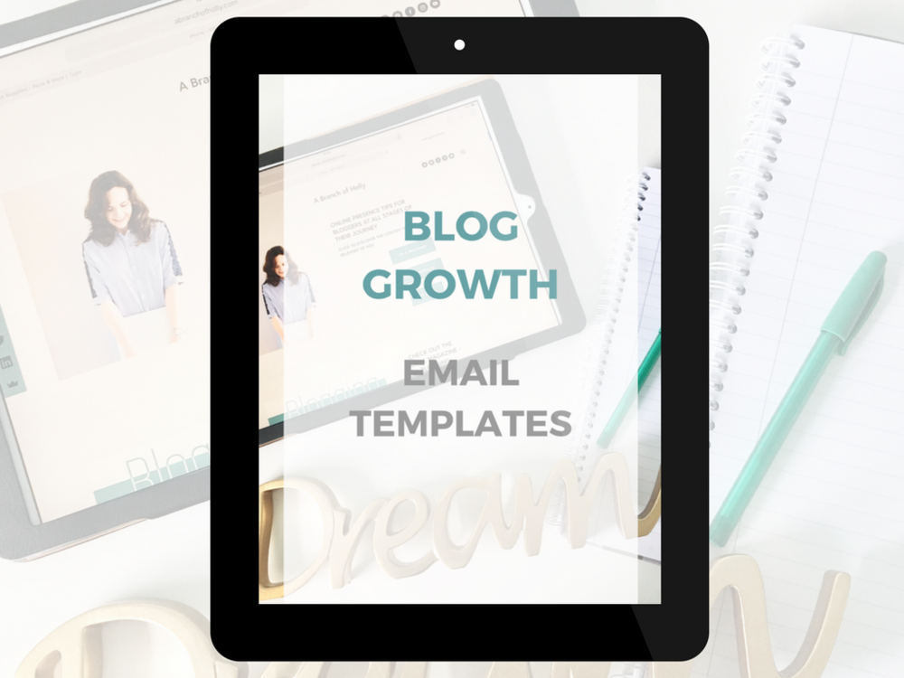 blog growth email templates