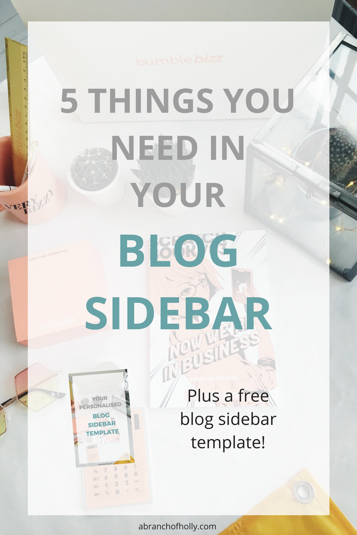 In this post, I'm going to walk you through the five main things I think every sidebar should have (and some things I think it shouldn't have).