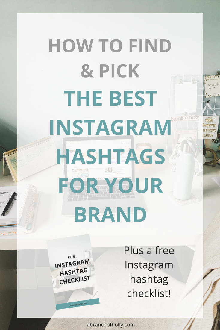 how to find and pick the best instagram hashtags for your brand