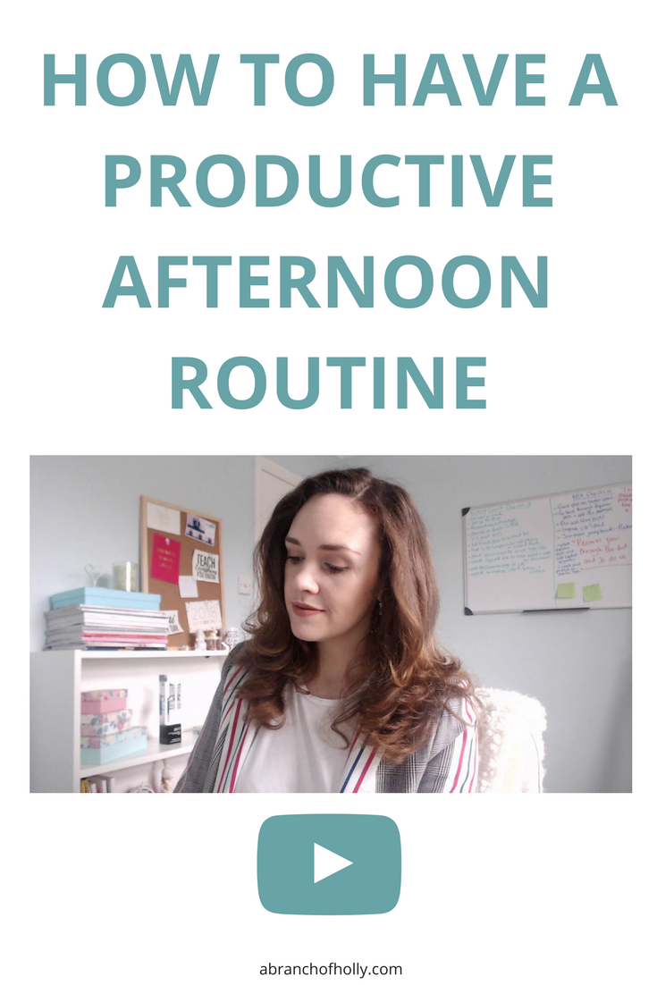 Want to be more productive in the PM and get things done? Here are my secrets on how you can have the best productive afternoon routine.