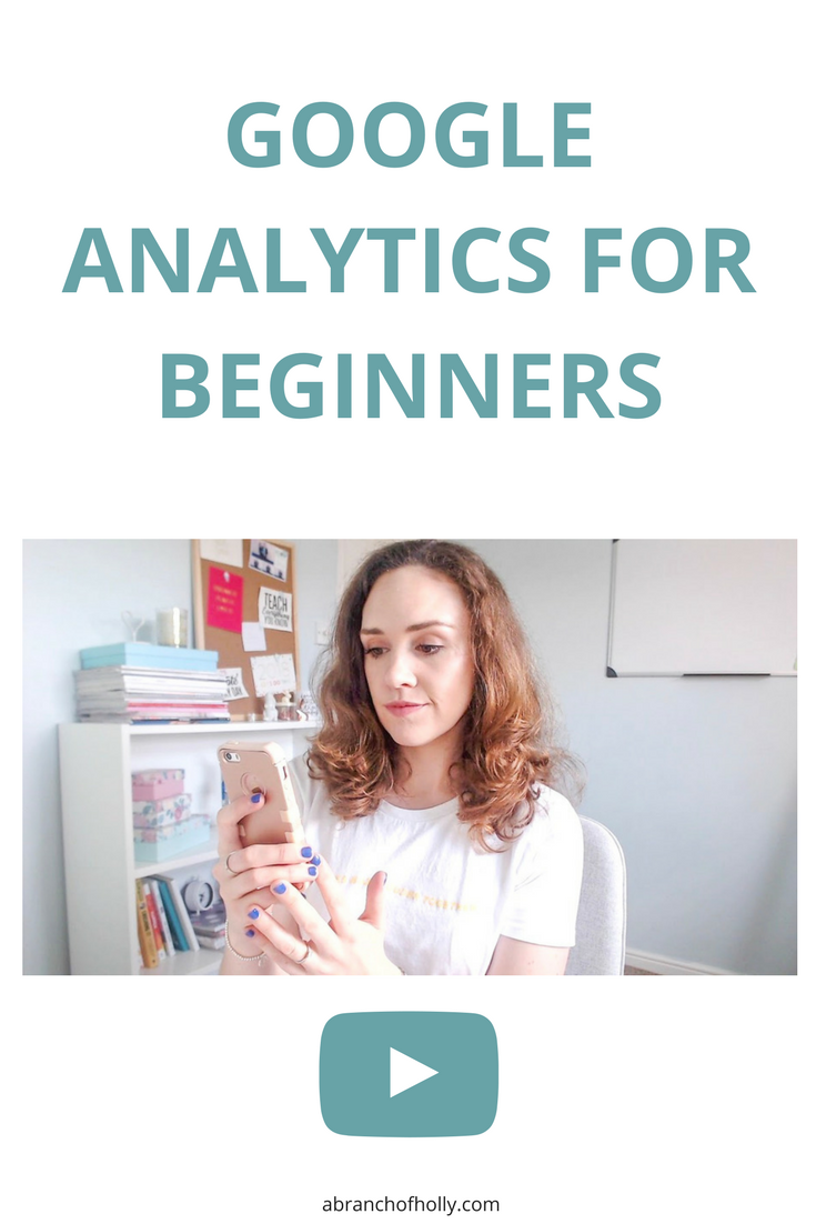 google analytics for bloggers - a branch of holly