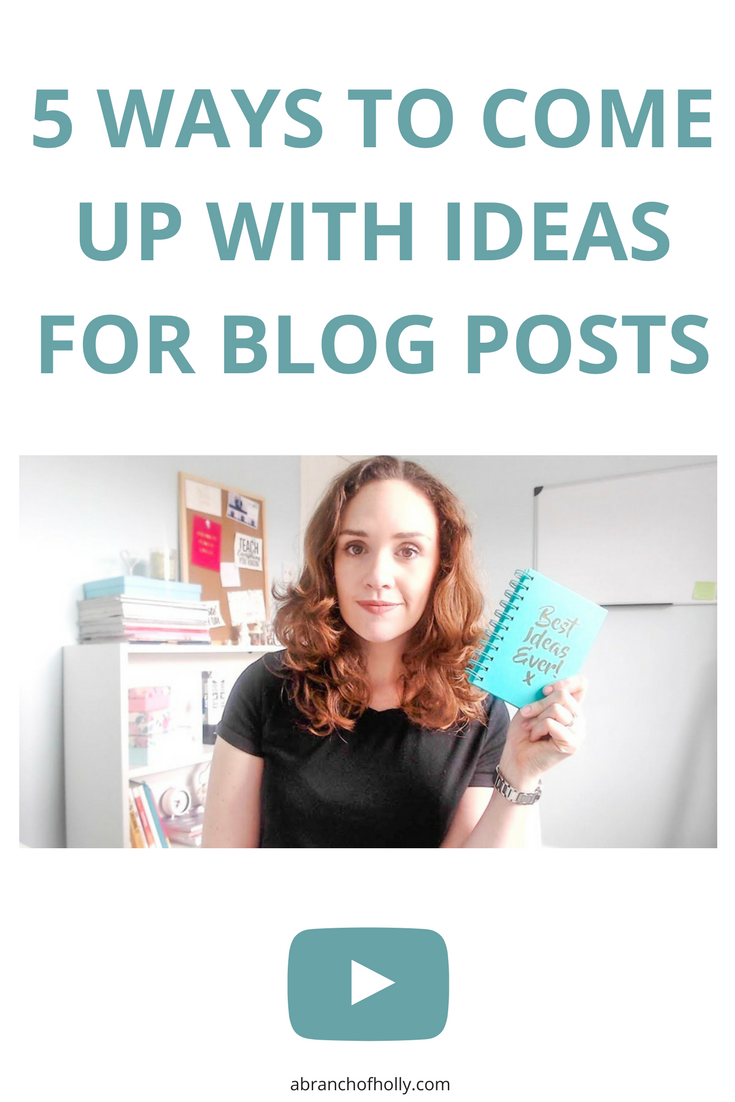 If you're creating new content on a regular basis, writers block is bound to happen. Here are some options to help you come up with blog post ideas.
