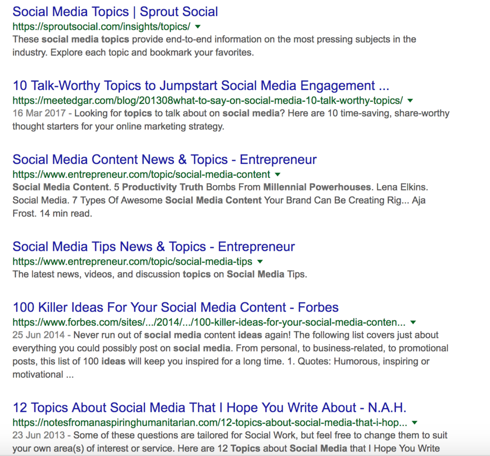 How To Come Up With Amazing Website Content Topics (+ never run out of ideas