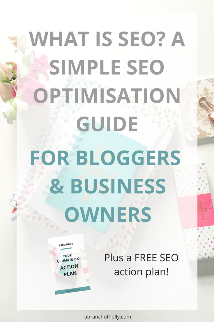 an seo optimistation guide for bloggers and business owners