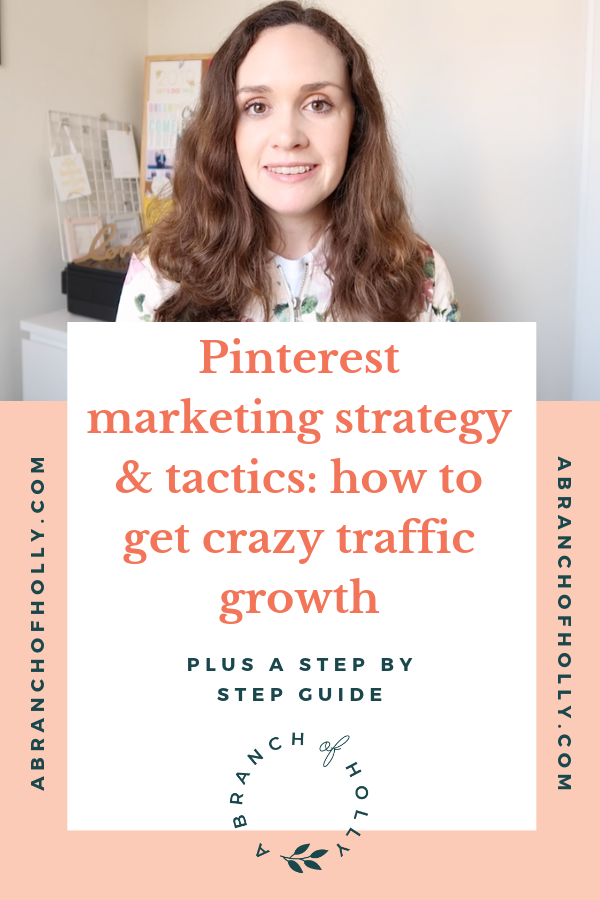 pinterest marketing strategy and tactics a branch of holly