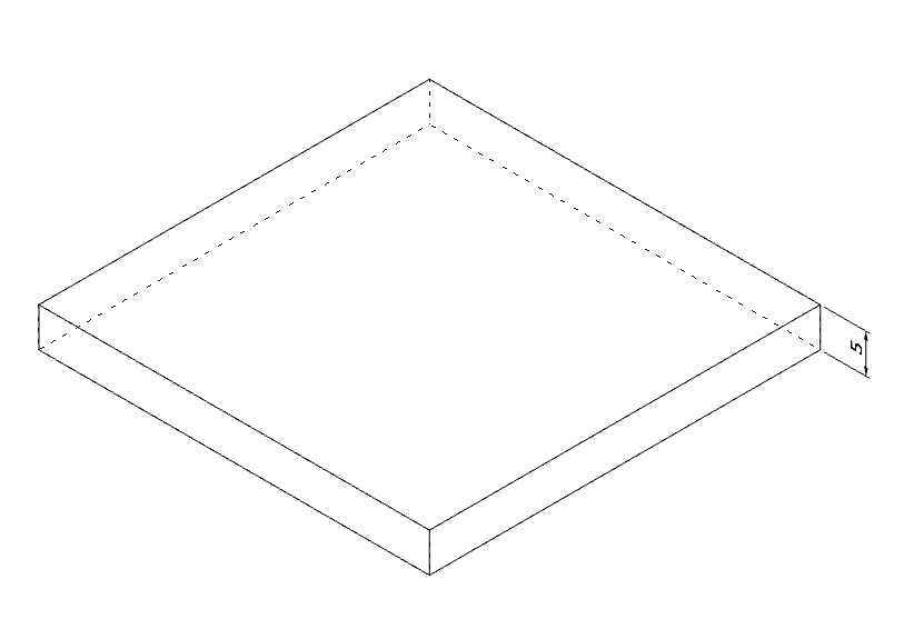 MINIMUM OBJECT THICKNESS        5.00 mm   Thickness limits may vary depending on the shape and size of the object. Please ask C37 what is the lowest thickness for your design.