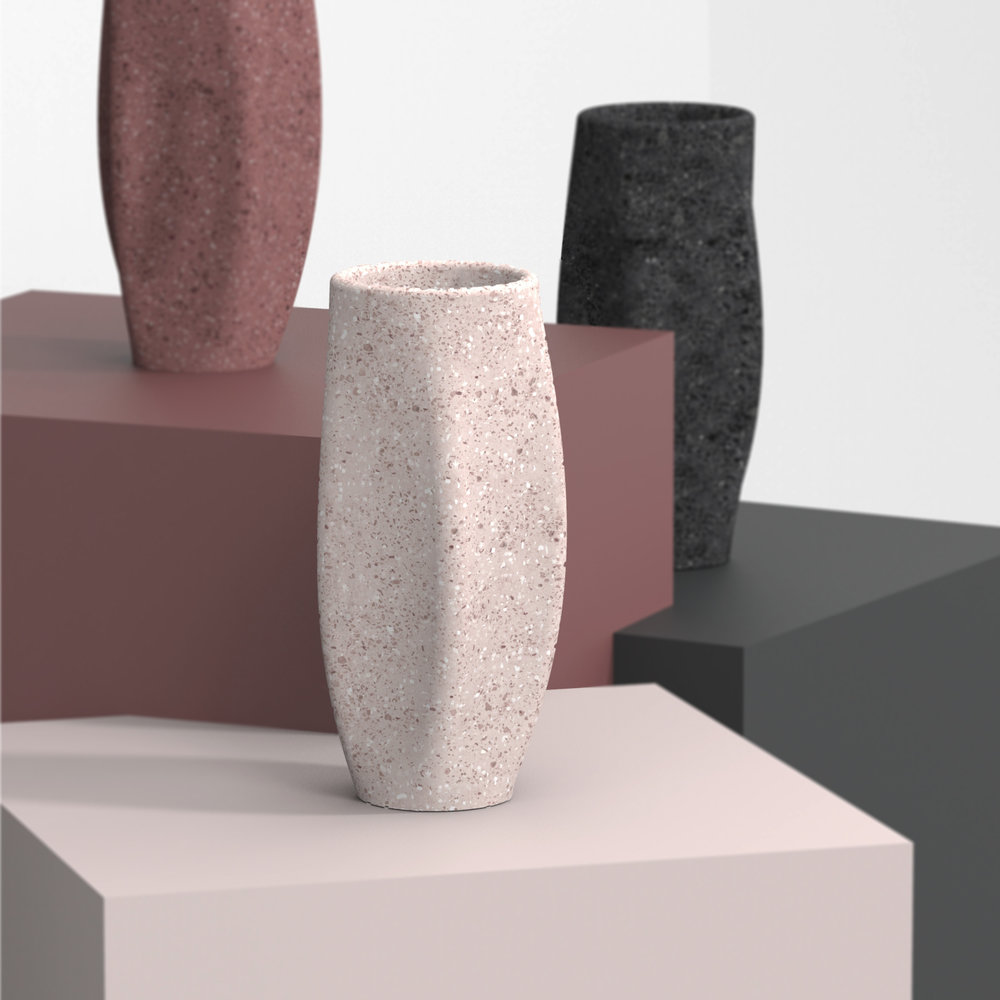 EASY TO REPRODUCE   Unlike stone, MAGMA can be casted in a mold to create infinite products in a shorter amount of time rather than sculpting in stone.