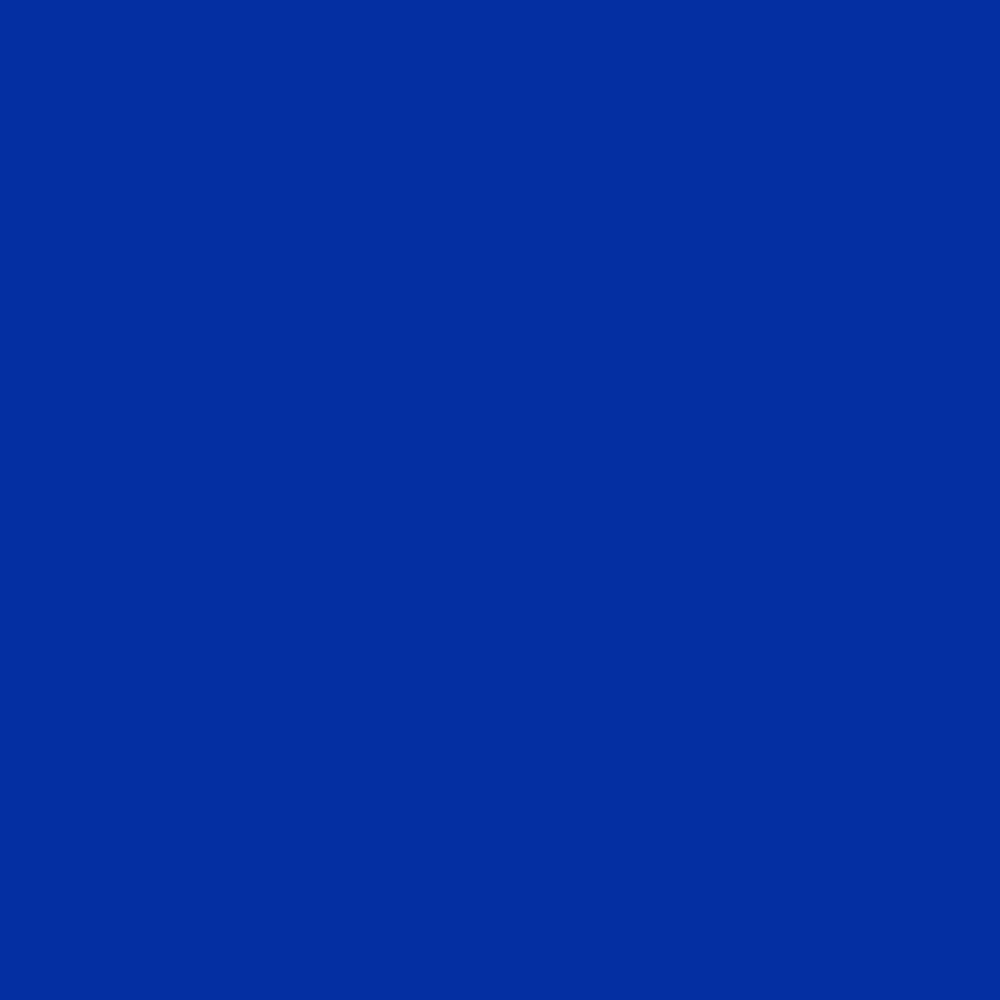 Blue #032E9F