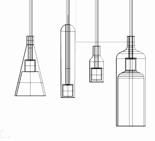 2016  C37 Studio designed a Acorn series to explore the lighting industry.
