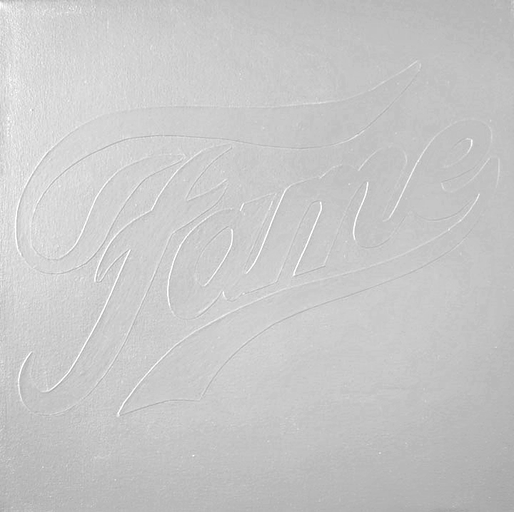 FAME  Industrial Paint on Canvas - 30 x 30in - 2011