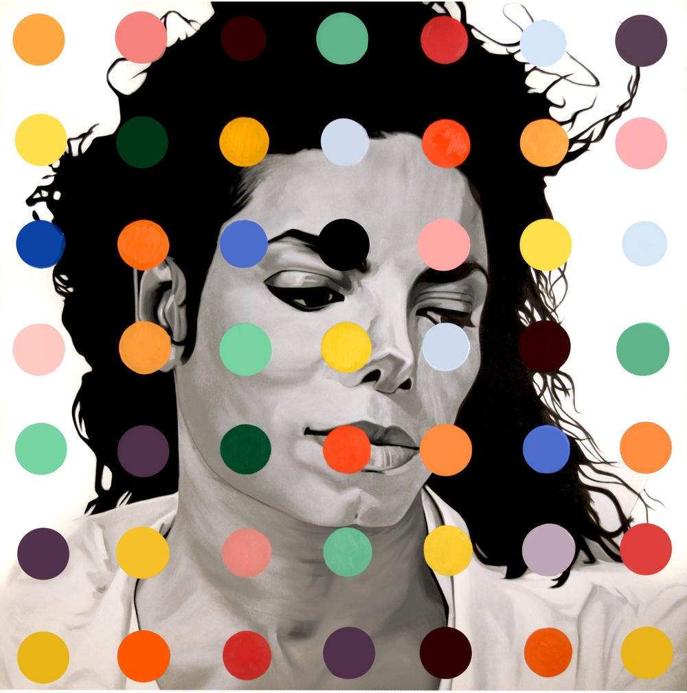 Michael  Oil on Canvas - 60 x 60in - 2013