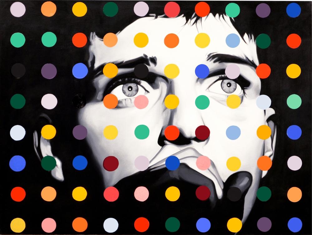 Ian Dot  Oil on Canvas - 30 x 40in - 2013