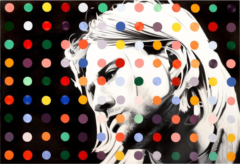 Kurt Dot  Oil on Canvas - 41 x 60in - 2013