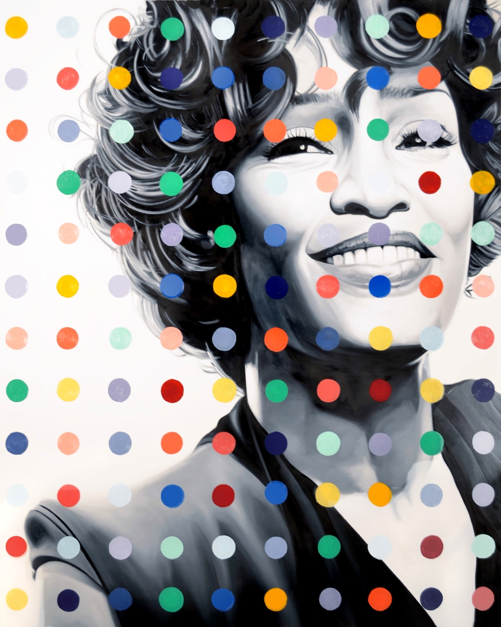 Whitney Dot  Oil on Canvas  -  60 x 40in  -  2013