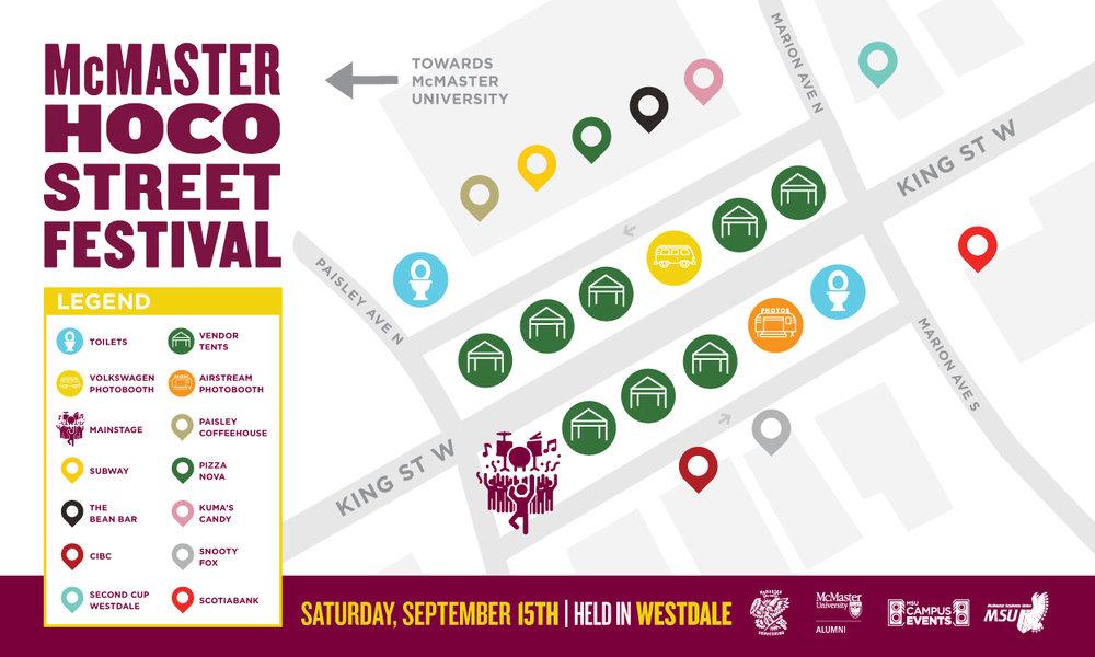 Street Festival Map