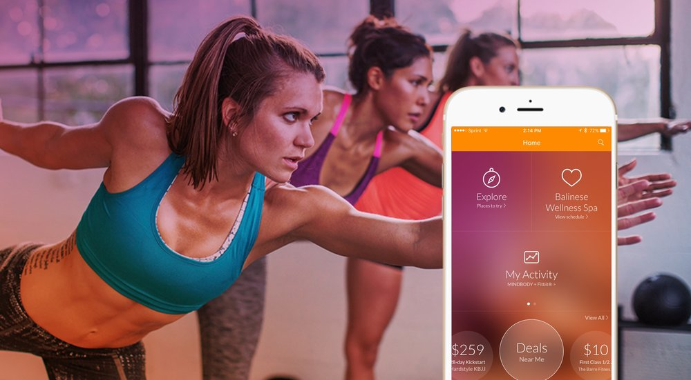 Sign up for our classes using the Mind Body app!