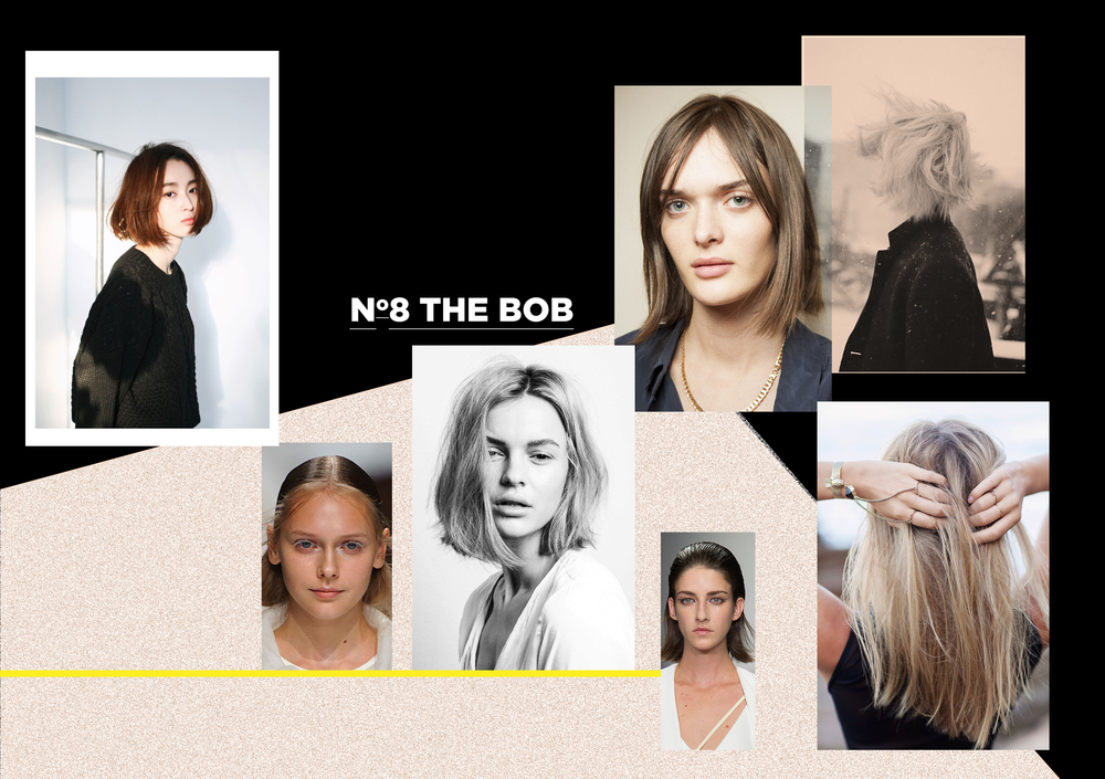 The Bob: blunt, raw and edgy.