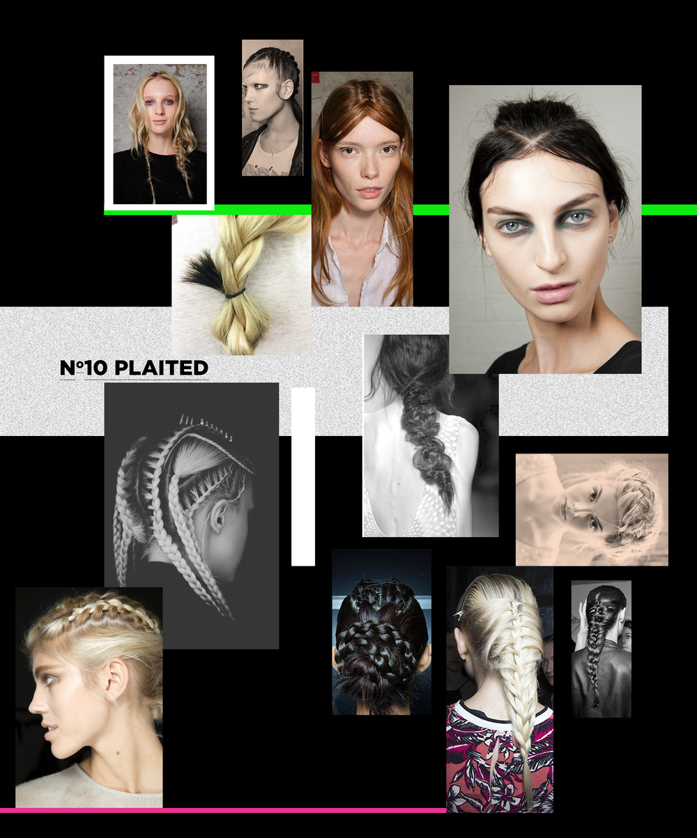 And finally, the plait. It's taken a turn for the dark side this season, no longer something associated with goody-two-shoes. Think rebellion and grunge! Some plaited from the scalp, giving bizarre partings, others adding different tones using hair extensions or hair chalks… Super intricate, why save yourself major scalp ache and book yourself in with a stylist? Get yourself booked in, so you can rock out! We have hairdressers in Leeds, hair stylists in Manchesterand barbers and hairdressers in London, too. Check out our hair booking app for more inspo + to get booked in at the tap of a finger.