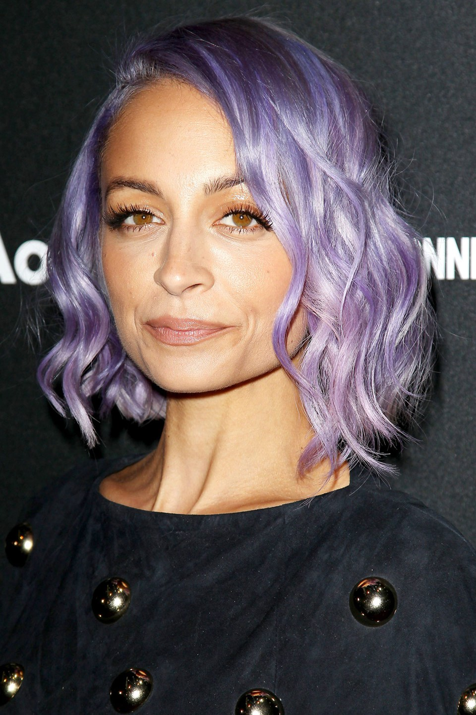 Nicole Richie's violet locks are our hair inspo DREAM! She is on point with a simple waved, long bob or a beautiful voluminous up-do.