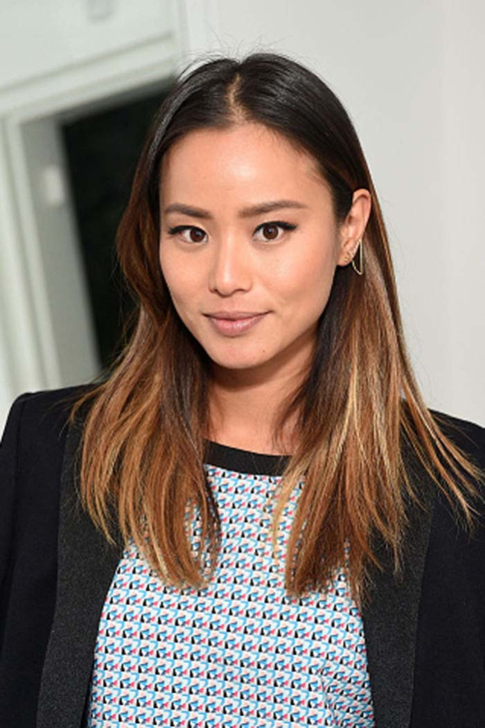 Poker-straight, super sleek, with balayage running through - a recipe for a seriously enviable 'do.