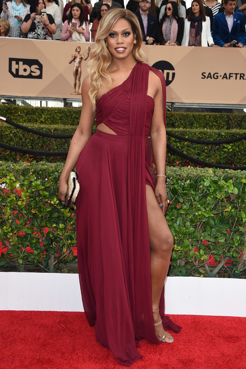 Laverne Cox looking sassy as ever. On POINT.