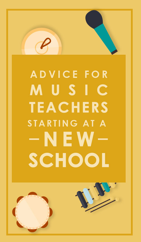 Advice for teachers at a new school