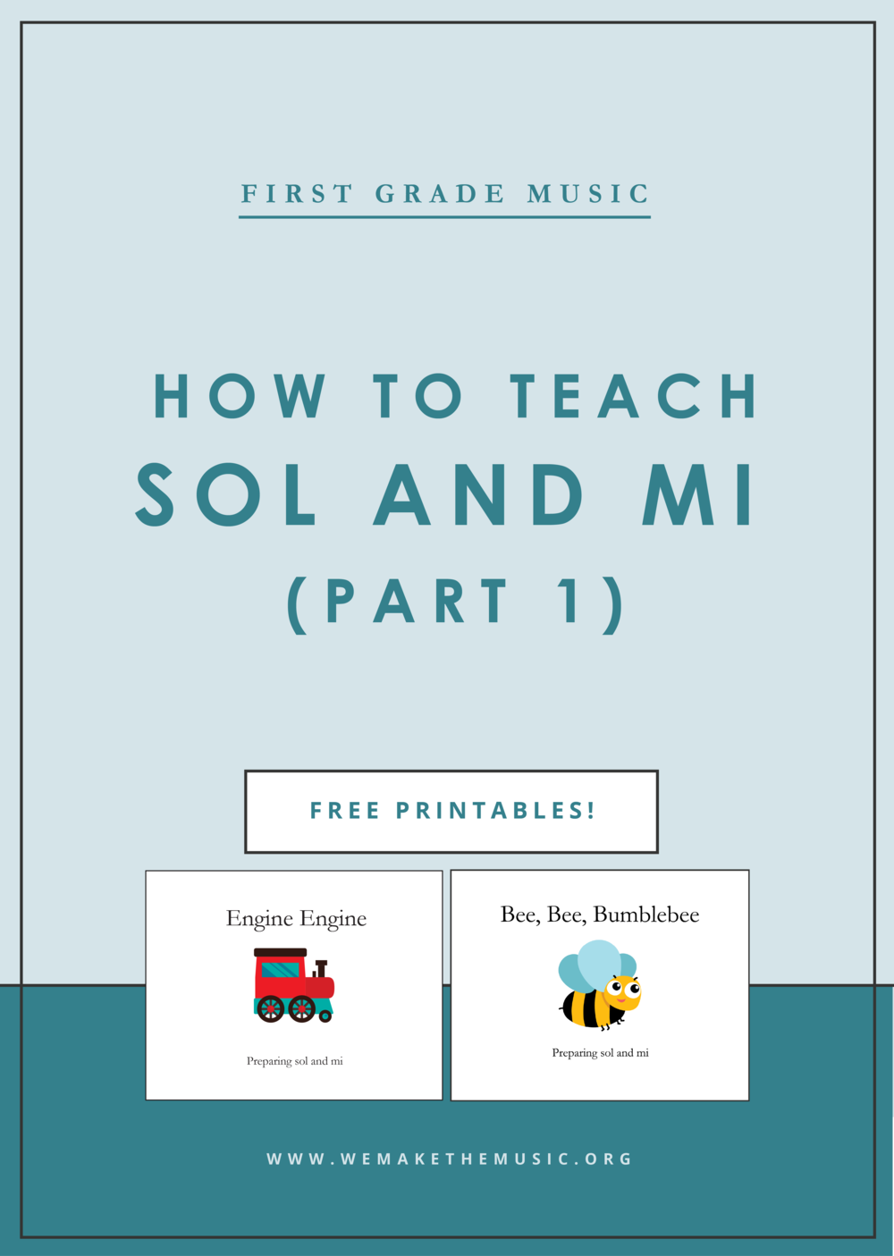 First Grade Music: How to prepare Sol and Mi