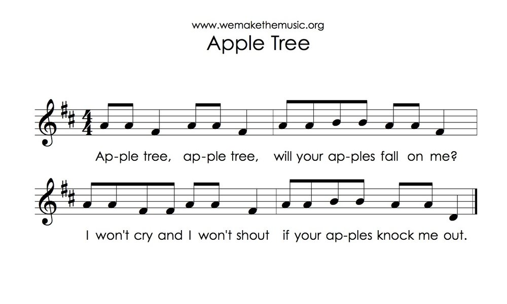Apple Tree We Are the Music Makers