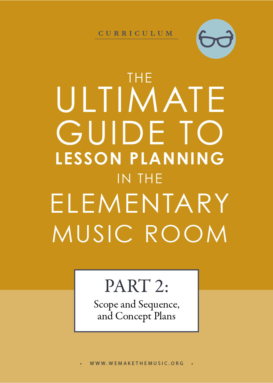 Planning in the Music Room Part 2