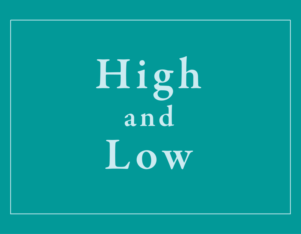High and Low Songs