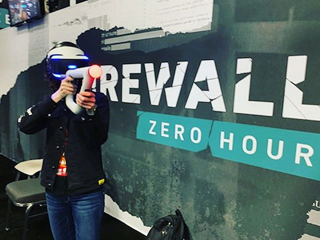 Tried out #firewallzerohour at #paxsouth #ps4 #playstationvr #psvr