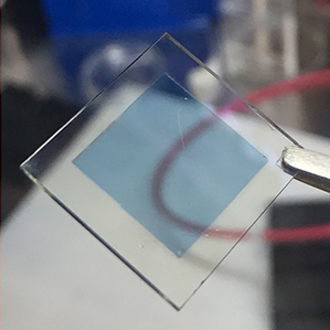 A new kind of window glass can be electronically tuned to selectively block large fractions of visible as well as heat-producing light. Image Credit: Delia Milliron