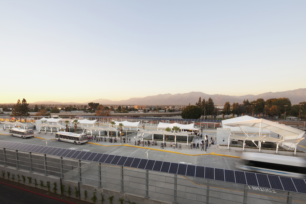After doubling its size in October 2012, El Monte Station has become the busiest transit hub in the San Gabriel Valley. Photo Credit:  RNL