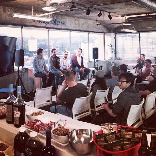 "#TBT to last nights panel event with @videoinknews ""Anatomy of a Webseries/Film Project for Digital Platforms"""