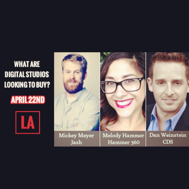 Don't miss out on our panel tomorrow! @videoinknews #WhatAreStudiosLookingFor #HSFFPANEL