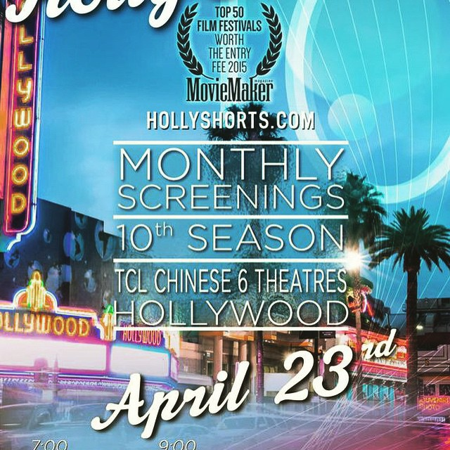 Will you be joining us @ChineseTheatres on April 23rd for our #MonthlyScreenings Tickets here: bit.ly/HSFFtickets