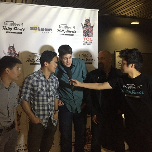 Talking with filmmakers of #LoveHurts #MonthlyScreeningSeries #HSFF