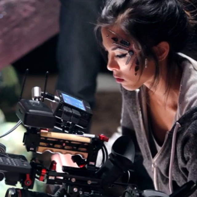 Check out our #FilmmakerSpotlight with writer, director, star, cat lover: @AnnaAkana  http://bit.ly/1zdI4oR