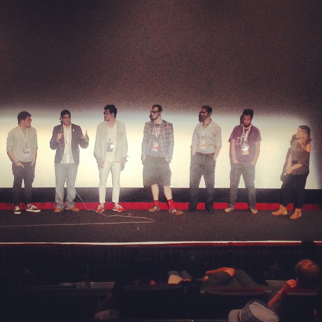 Too Funny Short Block Filmmakers talk about their shorts #hsff14