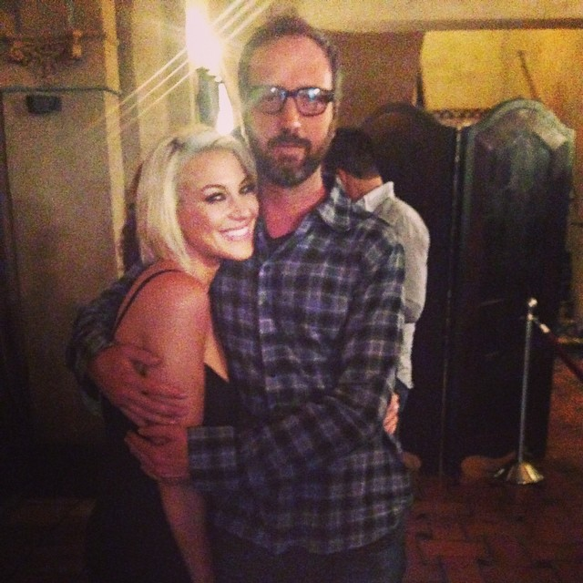 Tom Green & @erindahhling at #hsff2014 after party