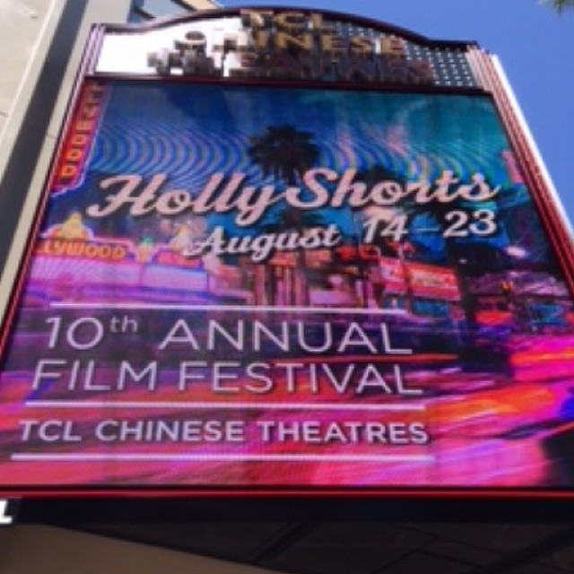 #hsff2014 #year10 #chinesetheatres #marquee