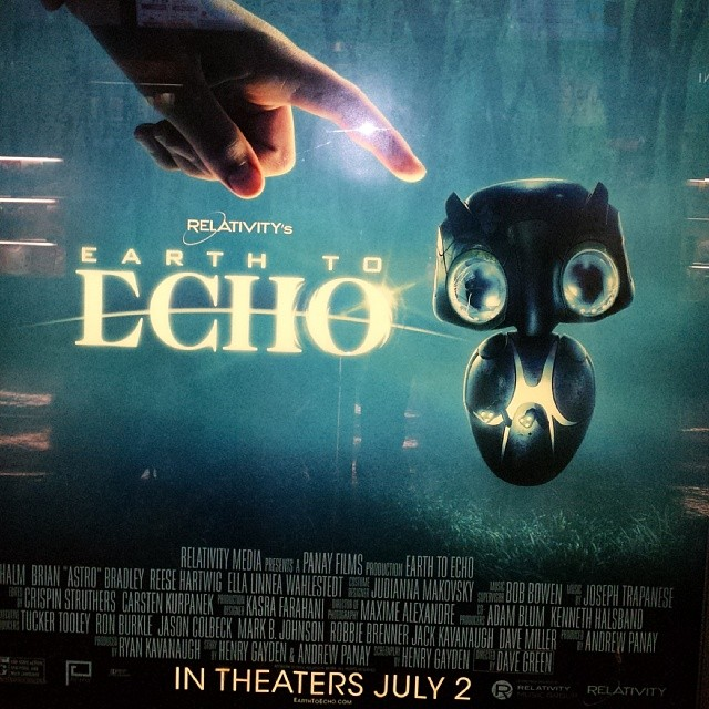 #hsff #alumni #meltdown #awardswinner #davegreen #earthtoecho  go check out Dave Green's film out in Theaters today!!!   @_theodumont @davegreeen