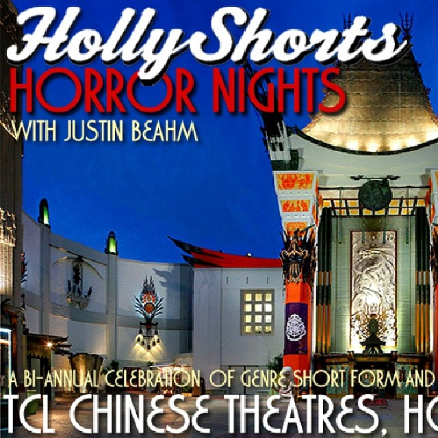 #hollyshorts #hollywoodnights #horrornights May 22nd @chinesetheatres @justinbeahm @_theodumont  tickets on sale now!