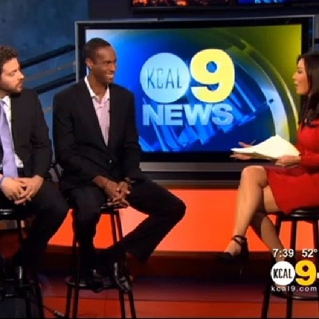 HollyShorts on KCAL9 Sunday Morning News promoting January 30th monthly @chinesetheatres and 2014 HSFF early bird Feb 7 Thx @andrewiggins