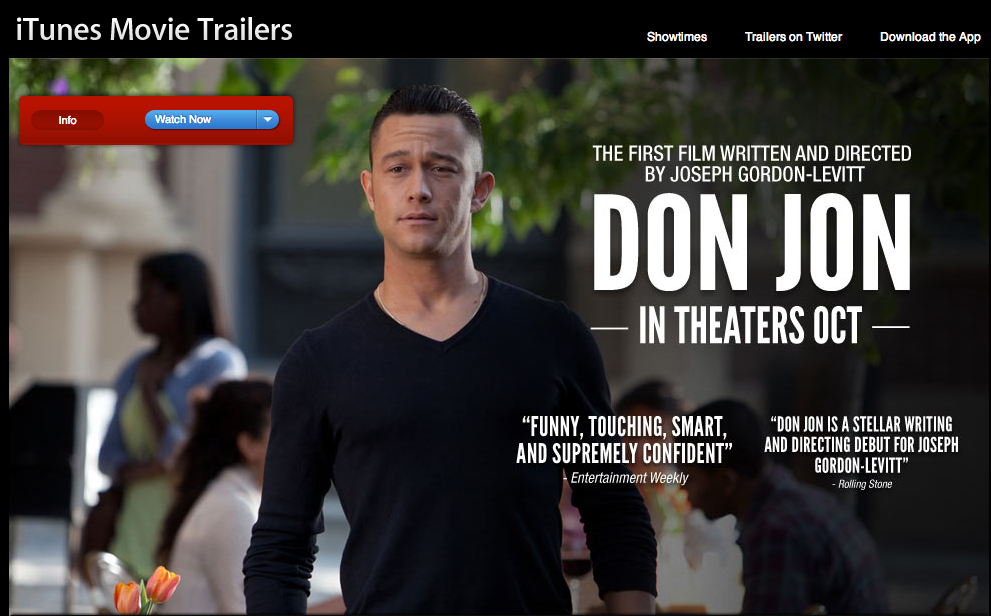 hitrecordjoe :      Hey everybody, the first trailer is now up for my new movie, Don Jon  ! I'm so curious to hear what you think of it :o)      WATCH THE TRAILER HERE!      And all you talented gif-makers running around on Tumblr, like I know you are, I'm looking forward to see what you make out of this…